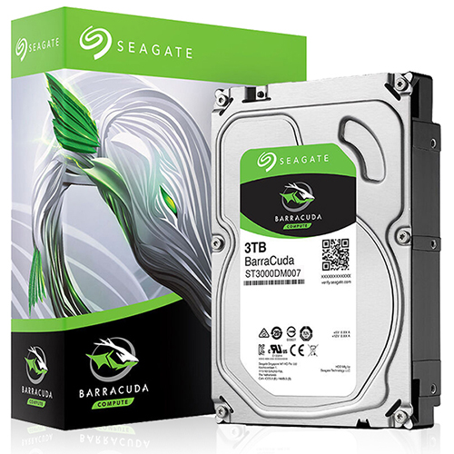 Ổ cứng HDD Seagate BarraCuda 3TB 3.5″ SATA 3