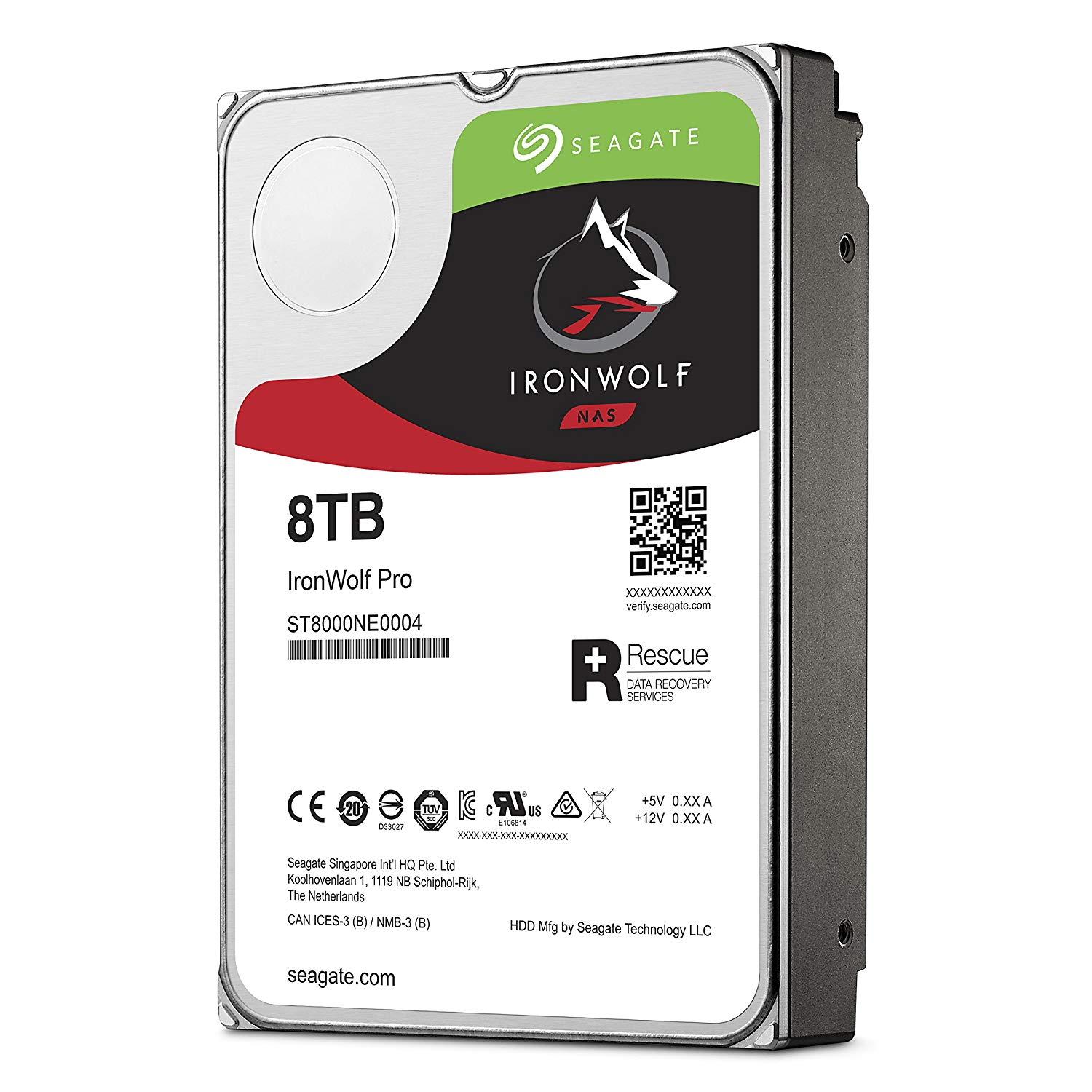 Ổ cứng HDD Nas Seagate Ironwolf Pro 8TB
