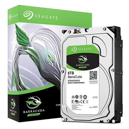 Ổ cứng HDD Seagate BarraCuda 6TB 3.5″ SATA 3