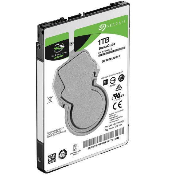 Ổ cứng HDD Seagate BarraCuda 1TB 2.5″ SATA 3 – ST1000LM048