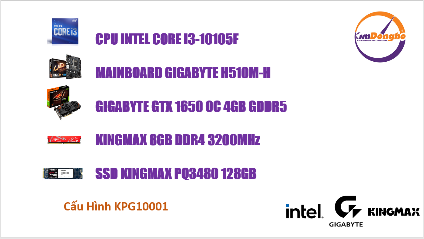 Máy tính Gaming KPG10001