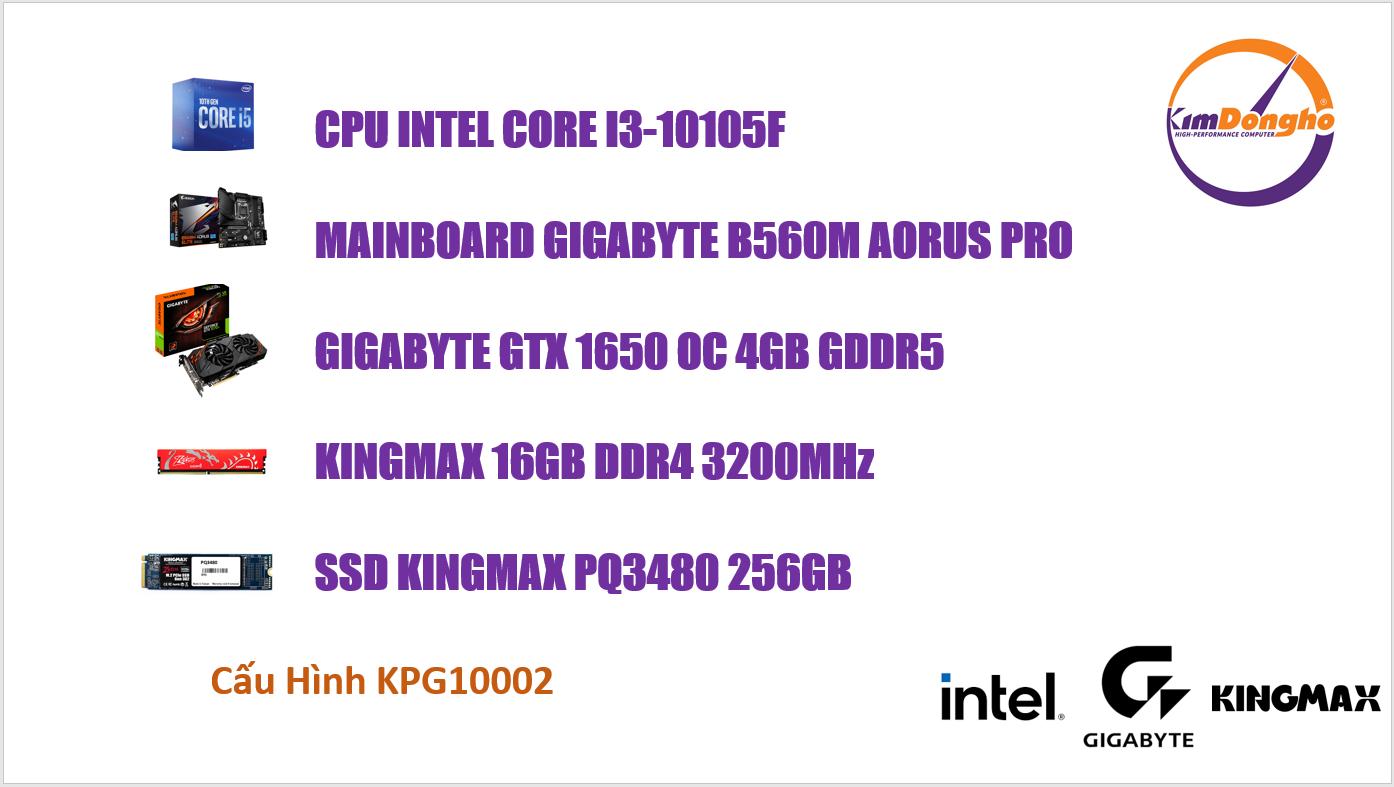 Máy tính Gaming KPG10002