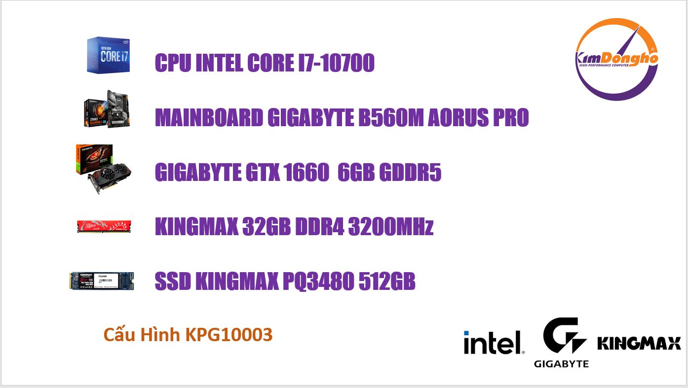 Máy tính Gaming KPG10003