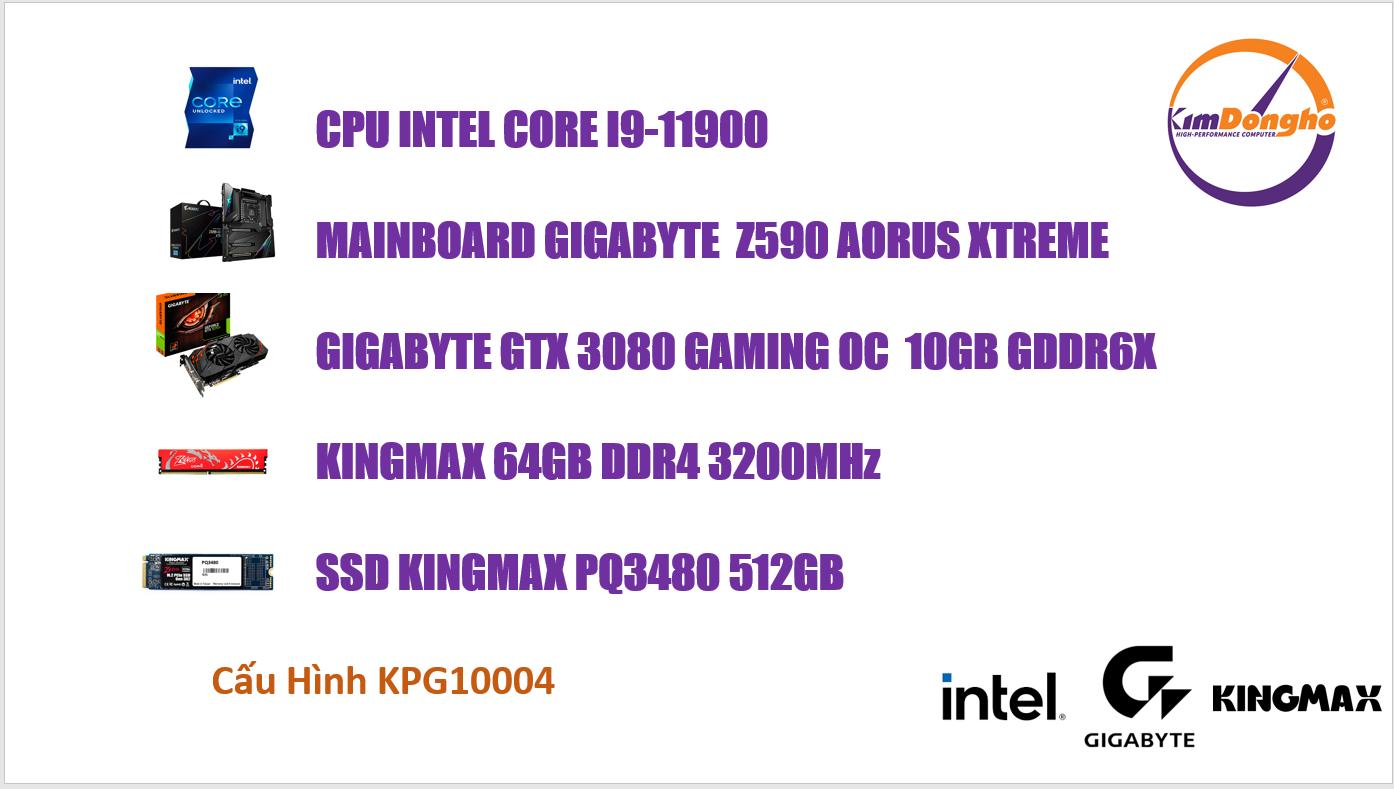Máy tính Gaming KPG10004