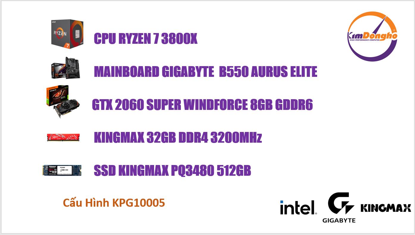 Máy tính Gaming KPG10005