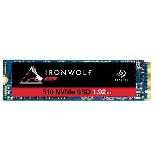 Ổ cứng SSD Seagate Ironwolf 510 1.92TB M.2 2280 NVMe1.3 – ZP1920NM30011