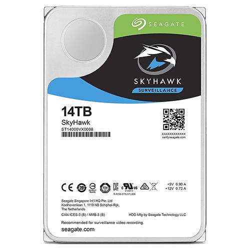 Ổ cứng chuyên dụng Camera HDD Seagate Skyhawk AI 14TB