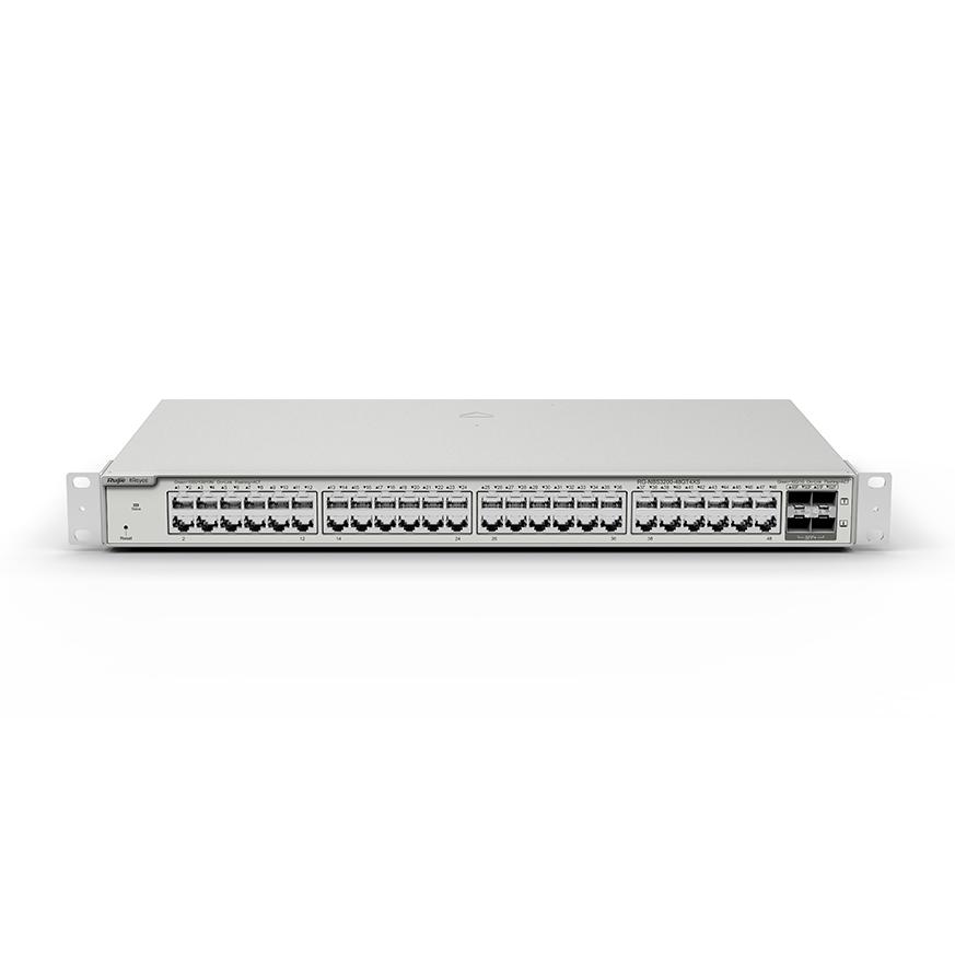 Switch 48 Cổng 10/100/1000BASE-T RG-NBS3200-48GT4XS-P