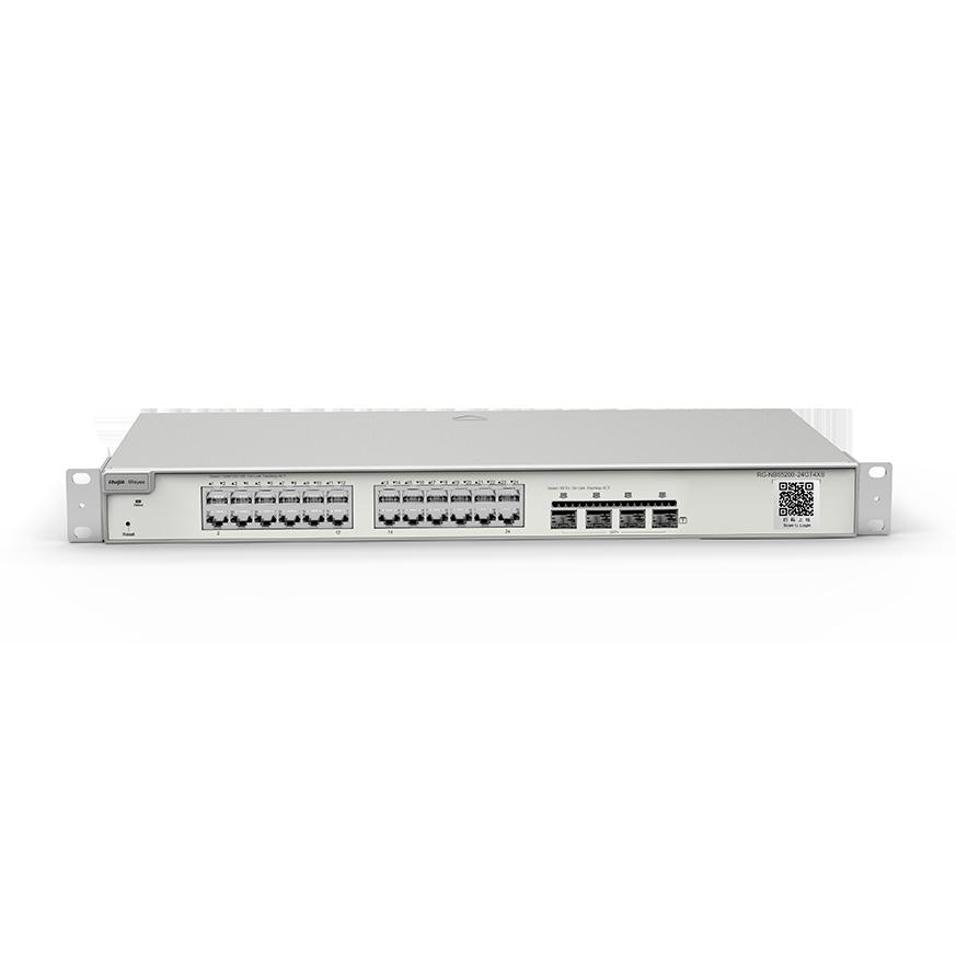 Switch 24 Cổng 10/100/1000BASE-T RG-NBS5200-24GT4XS