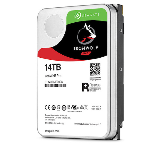 Ổ cứng HDD Nas Seagate Ironwolf Pro 14TB-ST14000NE0008